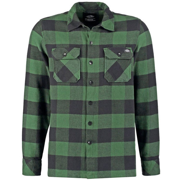 Dickies Sacramento Flannel Pine Green