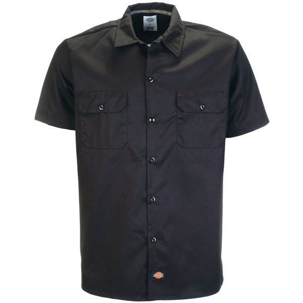 Dickies Slim SS Work Shirt Black