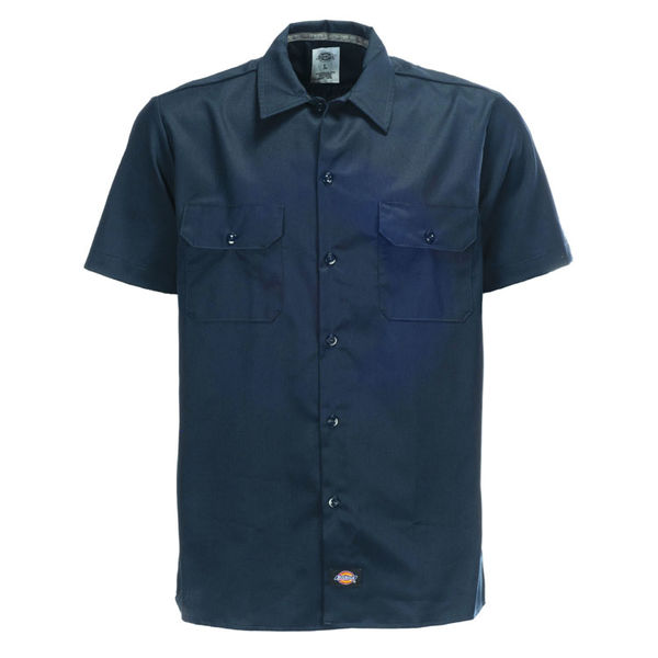 Dickies Slim SS Work Shirt Dark Navy