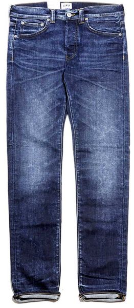 Edwin ED-80 CS Night Blue Denim Contrast Clean Wash