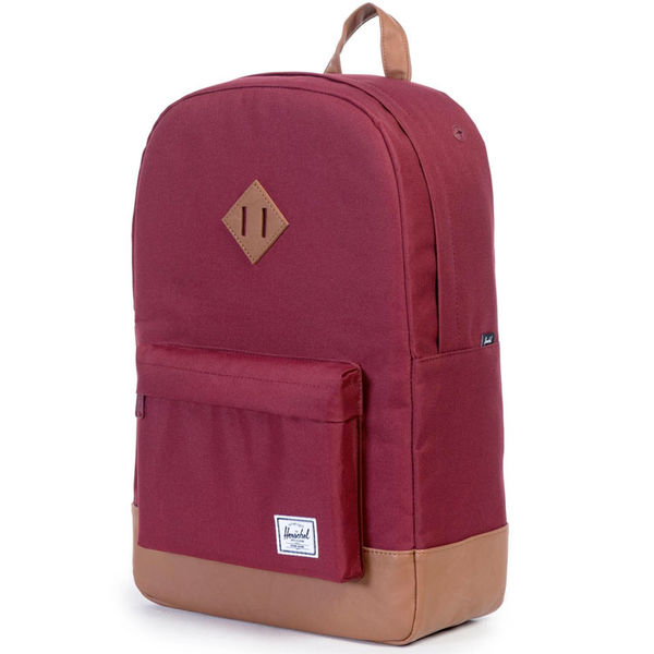 Herschel Heritage Windsor Wine/Tan/Synthetic Leather