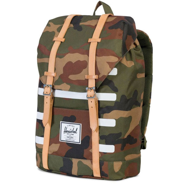 Herschel Retreat Woodland Camo Stripe