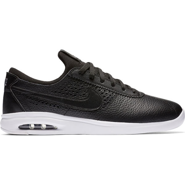 Nike SB Air Max Bruin Vapor Leather Black/Dark Grey/Black