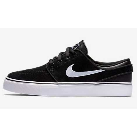 Nike SB Zoom Stefan Janoski (GS) Black/Gum Medium Brown/White