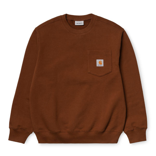 Carhartt WIP Pocket Sweatshirt Brandy
