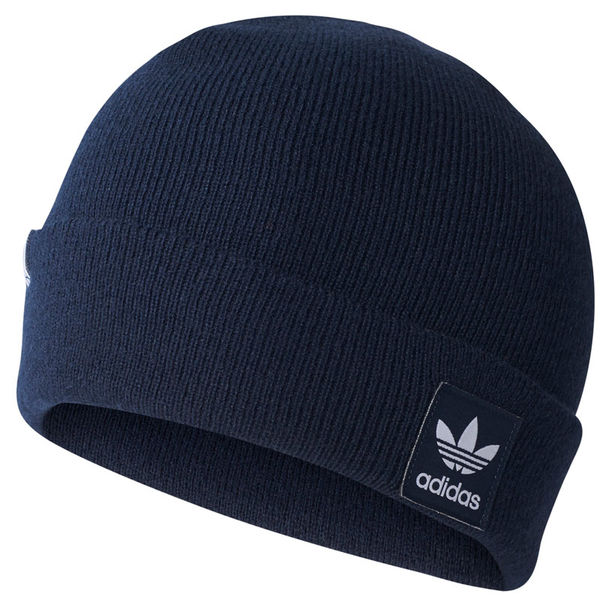 Adidas Originals Logo Beanie Legend Ink/White
