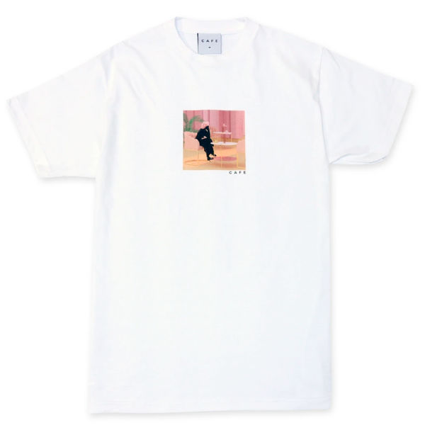 Skateboard Cafe Unexpected Beauty Tee White