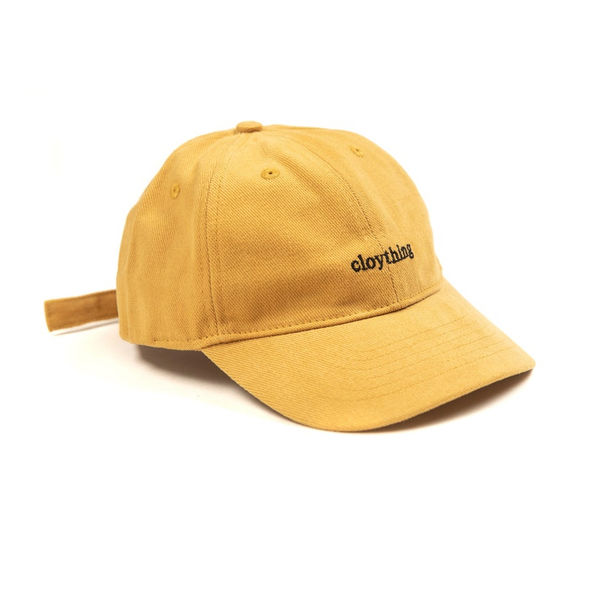 Cloything Writer Dad Cap Mustard