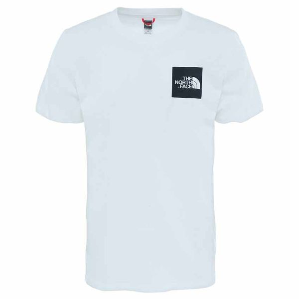 The North Face S/S Fine tee White Black