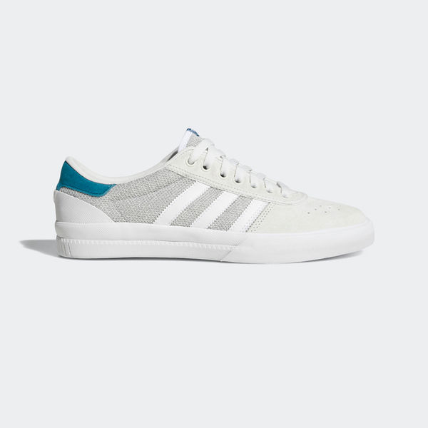 Adidas Lucas Premiere White/ Solid Grey / Real Teal