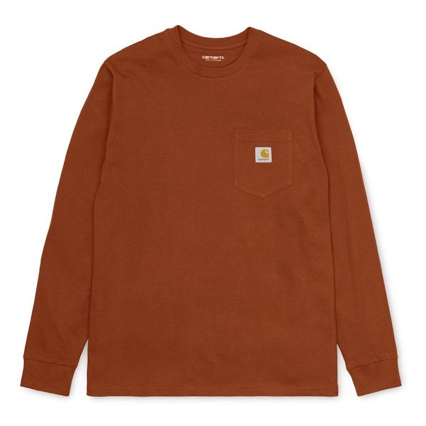 Carhartt WIP L/S Pocket T-Shirt Brandy