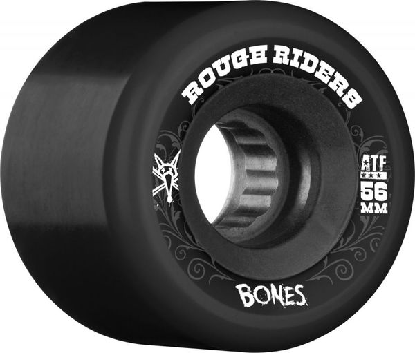 Bones ATF Rough Rider 56mm black
