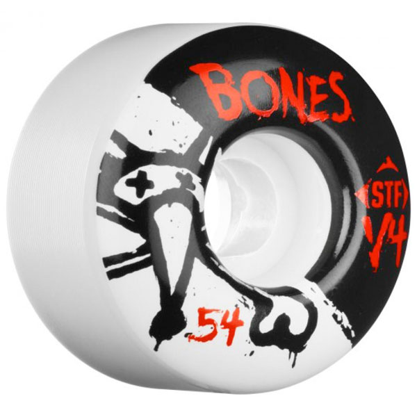 Bones Wheels STF V4 Series Standard white 54mm