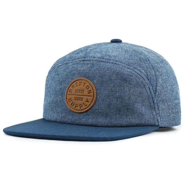 Brixton Oath 7 Panel Light Blue/Navy
