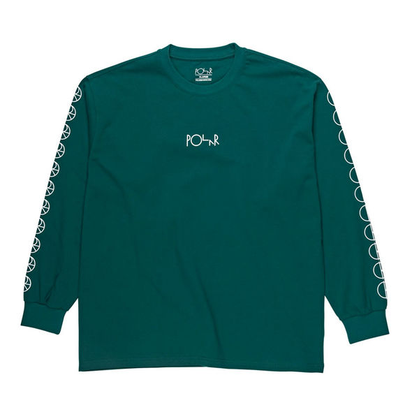 Polar Skate Co. Racing Longsleeve Dark Green