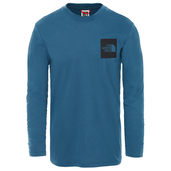 The North Face L/S Fine Tee Shady Blue