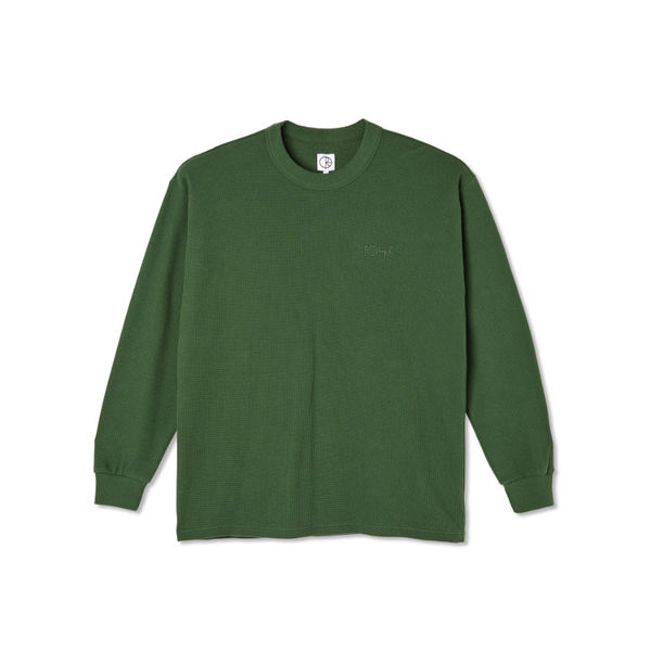 Polar Skate Co. Shin Longsleeve Hunter Green
