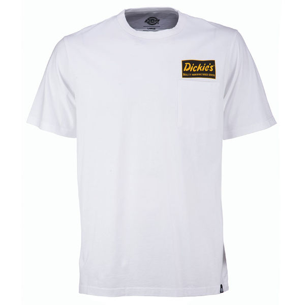 Dickies Franklin Park Tee White