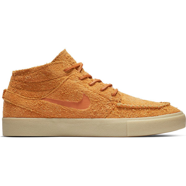 Nike SB Stefan Janoski Mid Crafted Cinder Orange/ Cinder Orange- Team Gold