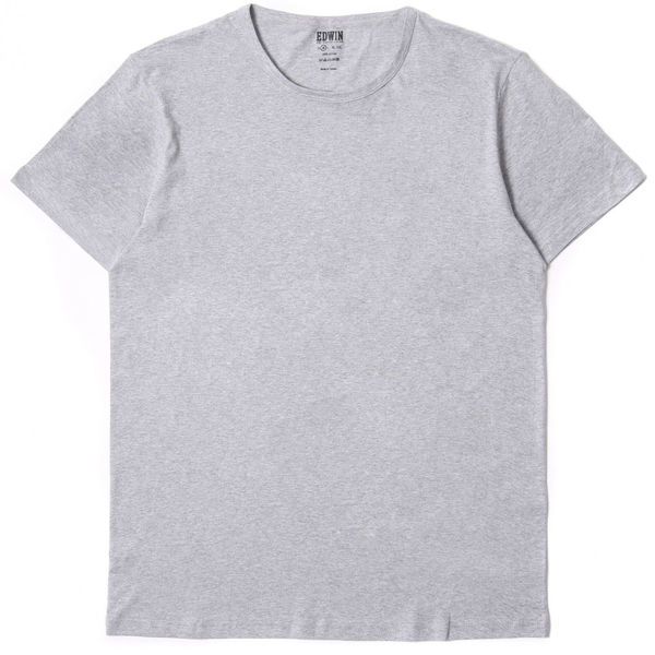 Edwin Double Pack SS Tee Grey