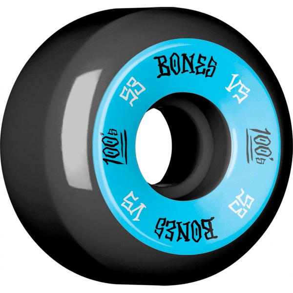 Bones Wheels OG 100's Black #1 V5 53mm