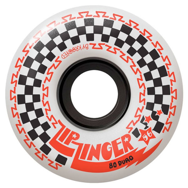 Krooked Zip Zinger 80d 56mm White
