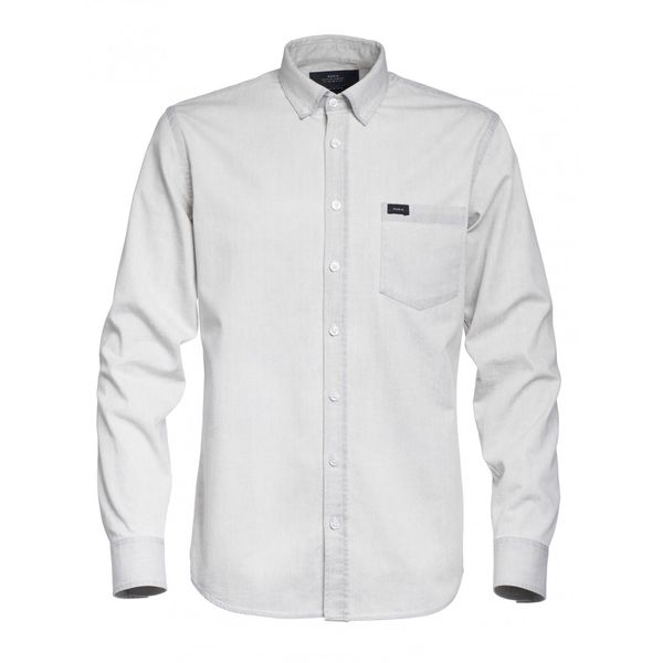 Makia Archipelago Shirt Grey