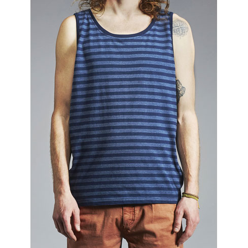 Makia Atlantic Tank Top Blue