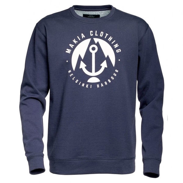 Makia Harbour Sweatshirt Navy