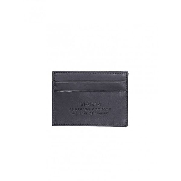 Makia Leather Wallet Black