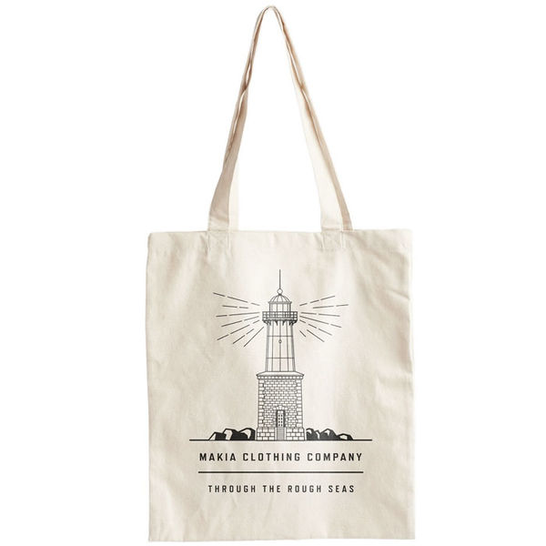 Makia Lighthouse Tote Bag