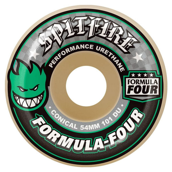 Spitfire F4 101D Conical Green Print 52mm
