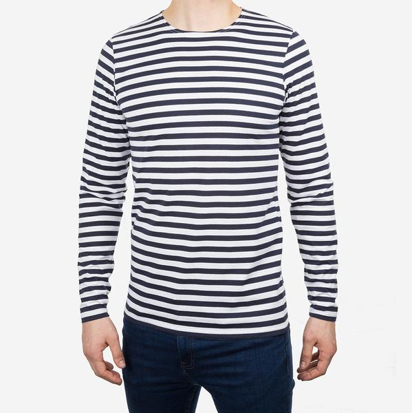 Vaella Blunt ECO Long Sleeve White/Navy