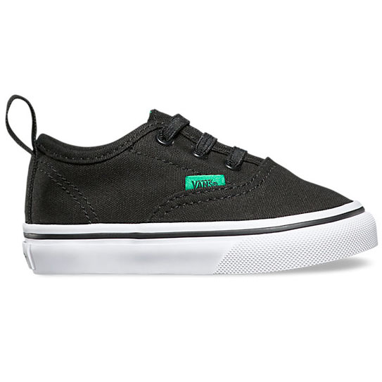 Vans Authentic V Lace Black/Kelly Green